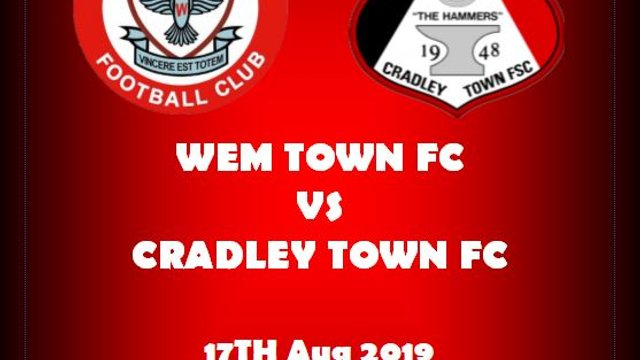 """""""THE HAMMERS"""" TRAVEL THIS WEEKEND TO WEM TOWN FC"""