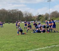 Home team unleash potential in 6 try thriller.