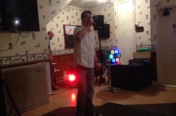 Compere for the evening JP!!