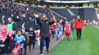 Pitchwalk at MK Dons FC