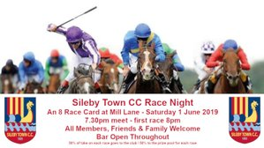 Date for your diary - STCC Race Night