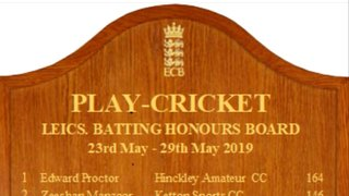 Bowley and Willcocks make Leicestershire honours board