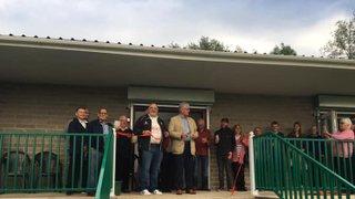 New Pavilion Opening