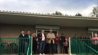 New pavilion gets grand opening