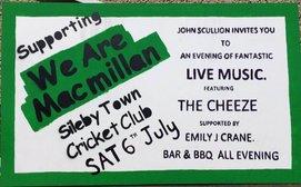 Macmillan fundraising reminder