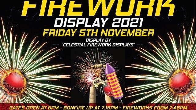 Firework display returns for 2021