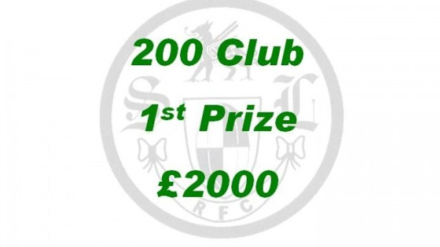200 CLUB WINNERS - SEPTEMBER DRAW RESULTS