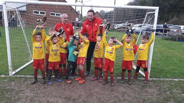 Cup Success - U8 Red and U11