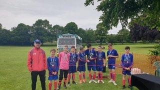 Wordsley u13s Tournament Winners