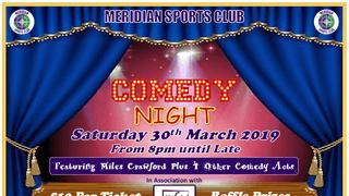Meridian Sports Club Comedy Night