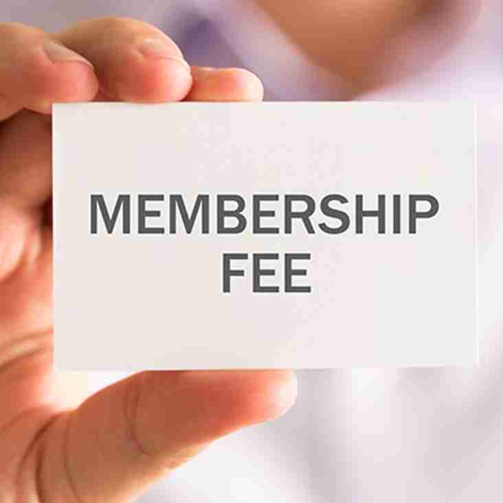 BSL League Membership Fees Season 2020-2021