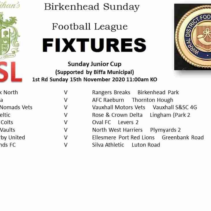 Sunday Junior Cup
