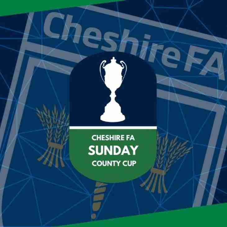 Cheshire Sunday Cup Rd 2