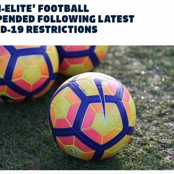FA Covid-19 Restrictions as of 4 January