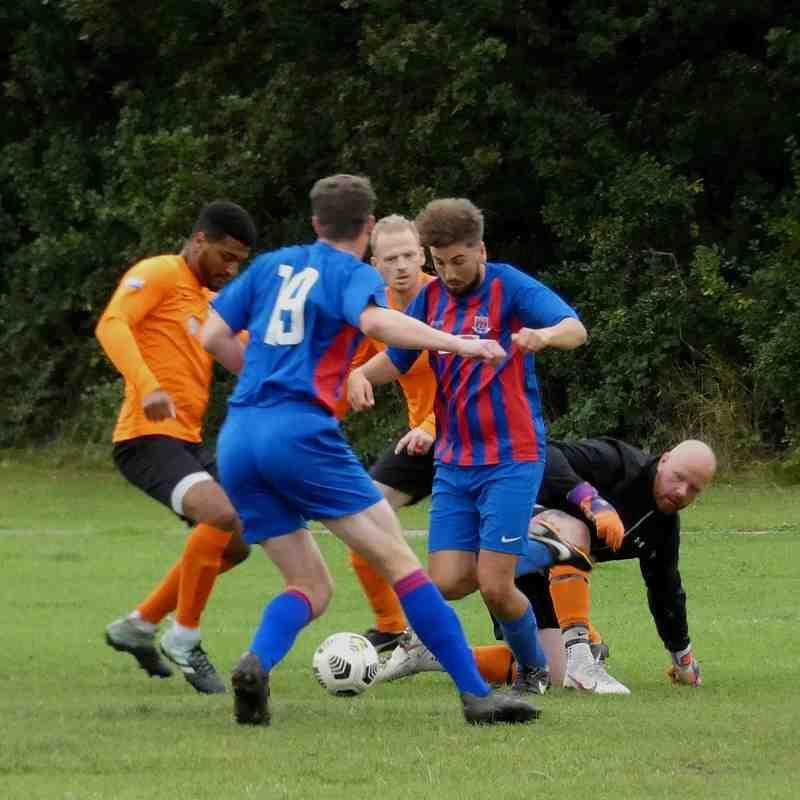 Upton Town v Telegraph FC