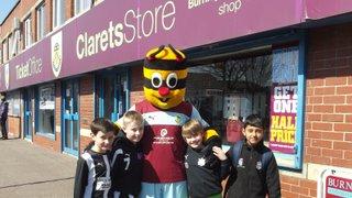 Day at Burnley FC - April 2013