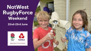 NatWest Rugby Force Weekend - 22nd and 23rd June