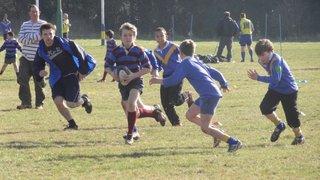 Under 12s vs Old Verulamians 12-02-2012