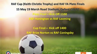 Icarus FC members involved in RAF Cup Finals