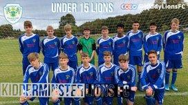 Under 15 Lions