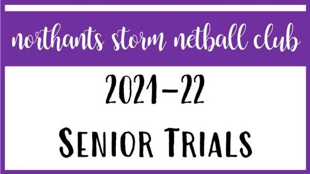 Senior Trials 2021