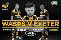 Wasps tickets available