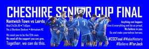 CHESHIRE SENIOR CUP FINAL PREVIEW