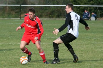 Ryan Oliver on the ball