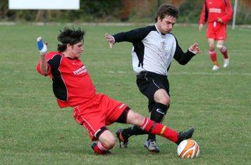 Miles Hunter tackles back