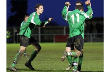 Gaz celebrates after scoring the winning goal