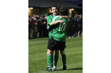 Jamie Mc & Miles celebrate