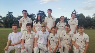 Hertford CC U15 - Won by 4 wickets
