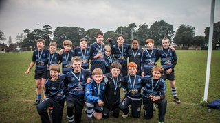 U12's win West Sussex West Championship - second year in a row!