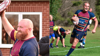 LOCAL BUSINESSMAN BACKS THE CLUB BY SPONSORING CLUB CAPTAIN & LEADING POINT-SCORER FOR THE SEASON!