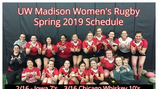 Women's 2019 Spring Schedule