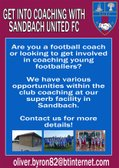 Get into coaching with Sandbach United