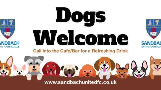 Dogs Welcome from Saturday 24th August