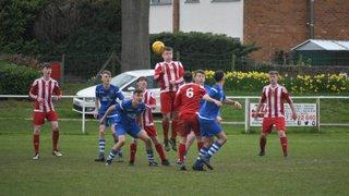 Rhydymwyn U19's 2 v 3 Holywell Town U19's