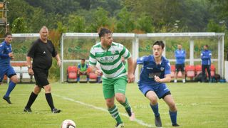 Another Pre - Season victory for the 1st Team