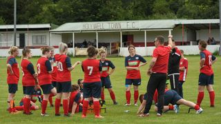 Holywell Town Ladies 0 v 2 N.F.A.Women