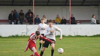 Preseason: Holywell Town U19's 2 v 6 Ashville FC U19's