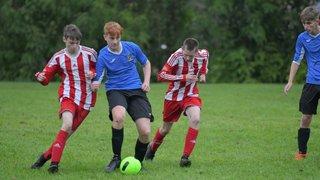 Mold Alex U16's 4 v 3 Holywell Town U19's