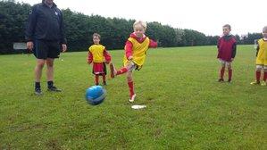 Soccer School Rainy Day