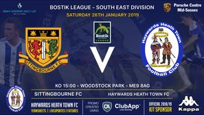 Weekend Preview as Heath Travel to Sittingbourne & the U18's in Cup Action