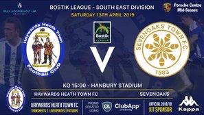 Weekend Preview as Sevenoaks Visit Hanbury