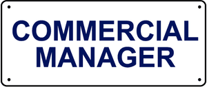Commercial Manager Vacancy