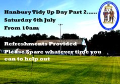 Tidy Up Day this Saturday 6th July