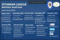 League Fixtures Released