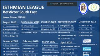 League Fixtures Released