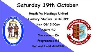 Unbeaten Hasting visit Hanbury
